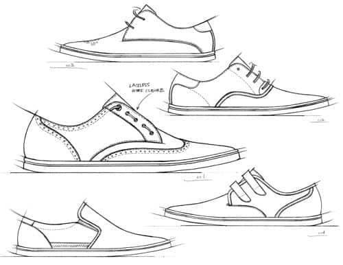zapatos forma
