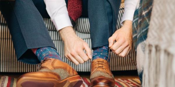 Reglas para combinar calcetines con zapatos