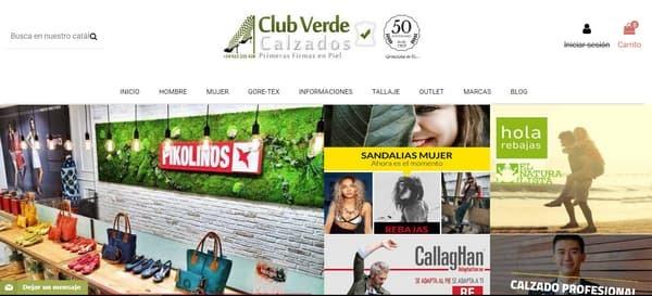 CalzadosClubVerdepresenta nuevo sitio web y más ofertas