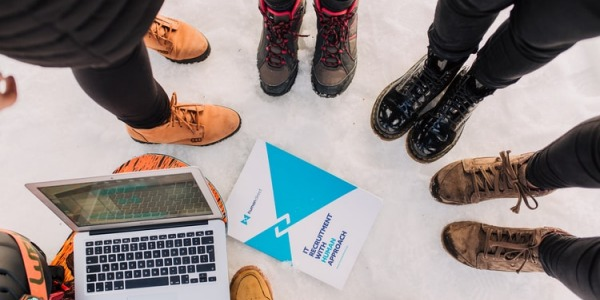 Zapatos cómodos para llevar a la oficina en invierno